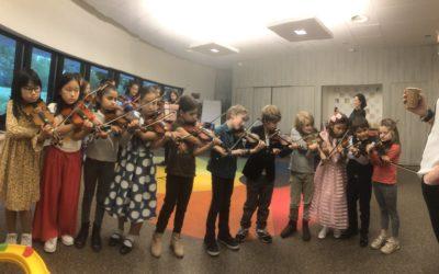 Optreden met de Muzikids